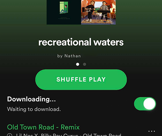 """recreational waters"": A Spring Break Playlist"
