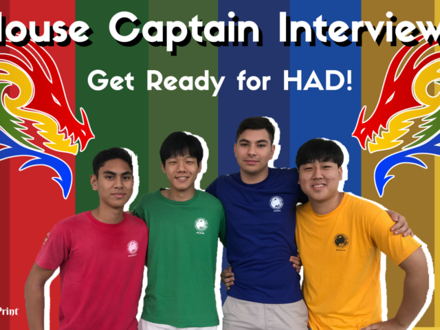 House Captain Interviews:  What Do You Love Most About Your House?