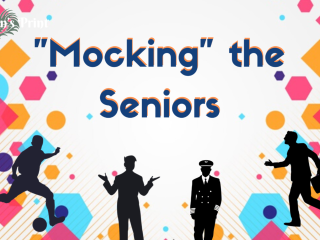 """Mocking"" the Seniors"