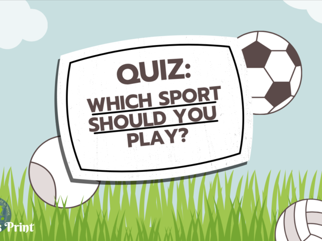 Which Sport Should You Play?