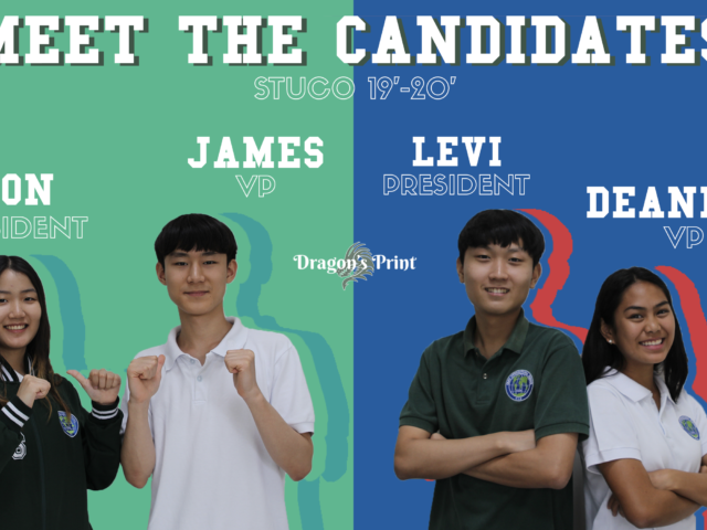 MEET THE CANDIDATES: Your Aspiring Leaders for StuCo 2019-2020